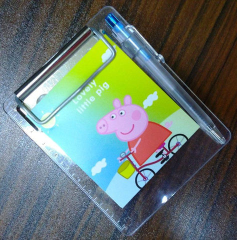 Pocket Exam Pad, Diary and Pen Peppa Pig - BulkHunt - Wholesale Return Gifts Online