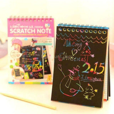 Pocket Scratch Diary (14 cm x 10 cm) - BulkHunt - Wholesale Return Gifts Online