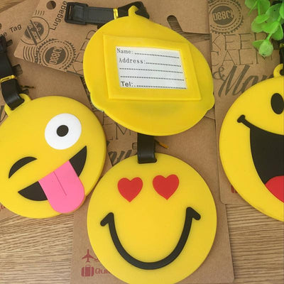 Smiley Emoji Luggage Tags - BulkHunt - Wholesale Return Gifts Online