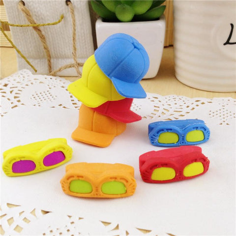 Sunglass Hat Erasers - BulkHunt - Wholesale Return Gifts Online