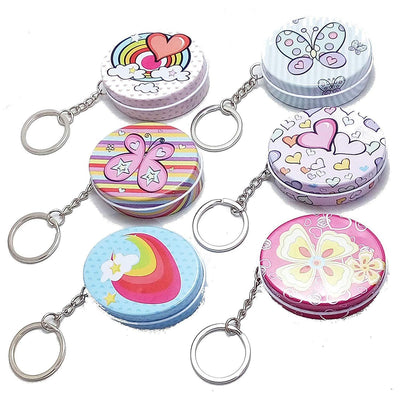 Tin Oval Keychain - BulkHunt - Wholesale Return Gifts Online