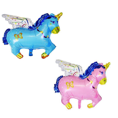 "Unicorn with Wings Foil Balloon 14"" - BulkHunt - Wholesale Return Gifts Online"