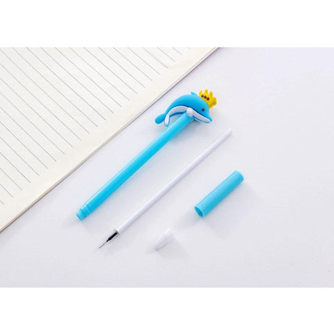 Whale Fish Gel Pen - BulkHunt - Wholesale Return Gifts Online