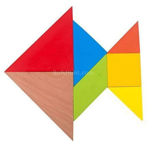 Wooden Tangram - BulkHunt - Wholesale Return Gifts Online