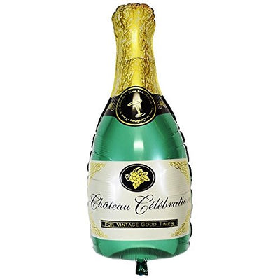 Champagne Bottle Foil Balloon - BulkHunt - Wholesale Return Gifts Online