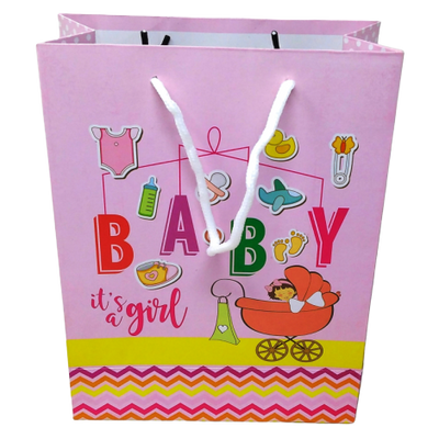 Girl First Birthday Paper Bag Small - BulkHunt - Wholesale Return Gifts Online