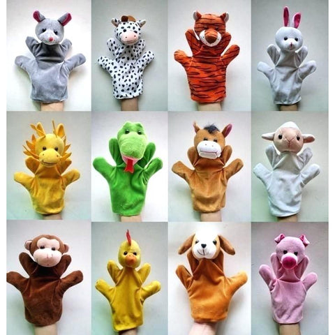 Funny Hand Puppets Animal - BulkHunt - Wholesale Return Gifts Online