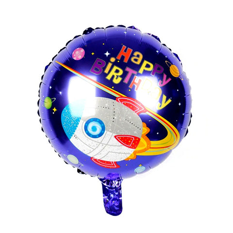 "Space Theme Foil Balloon 18"" - BulkHunt - Wholesale Return Gifts Online"