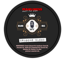 MANLINESS Beard Balm - Dragons Blood | Conditioner & Styling Pomade | 2 Oz.