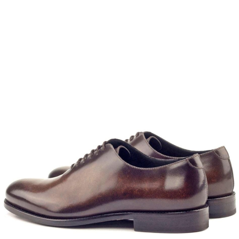 Claremont - Brown Crust Patina Whole Cut Walcott's Footwear