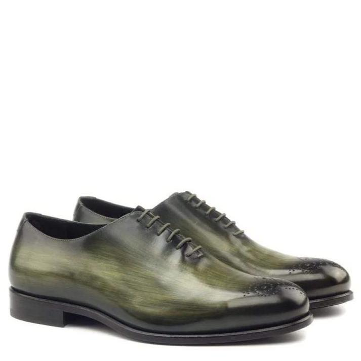 Claremont - Khaki Crust Patina Whole Cut Walcott's Footwear