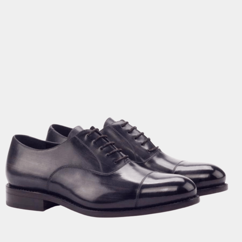 Darliston - Grey Crust Patina Oxfords Walcott's Footwear