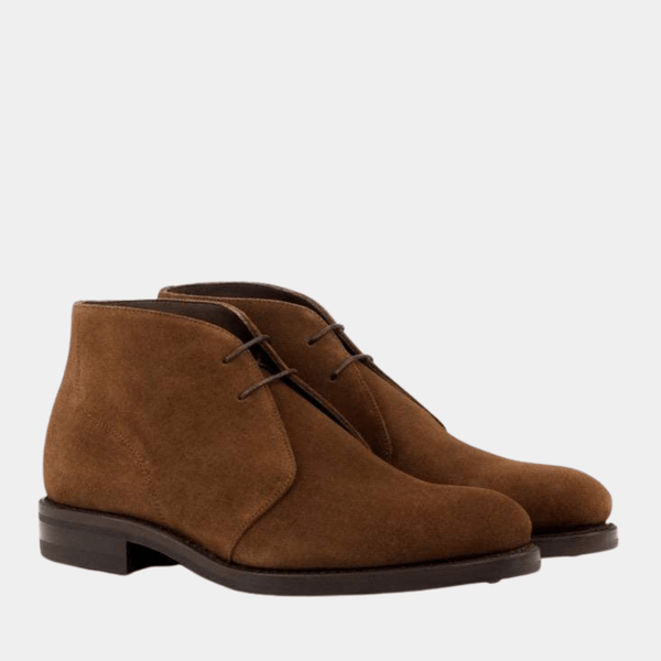 Hodges - Med Brown Lux Suede Chukka Boot Walcott's Footwear