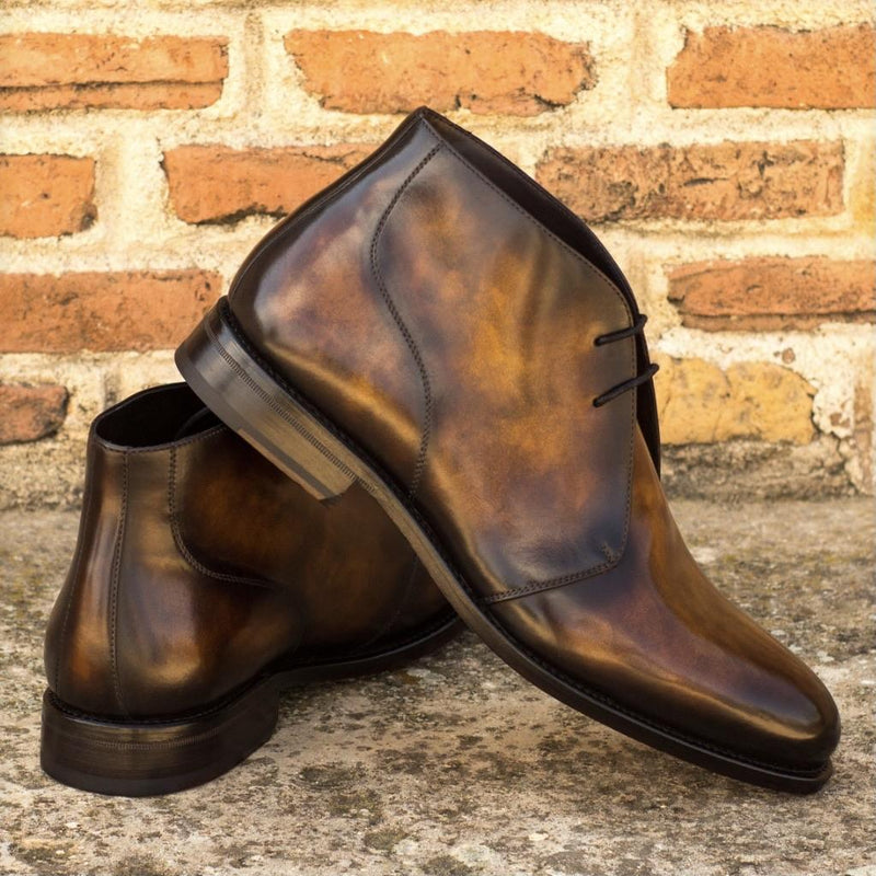 Hodges - Tobacco Crust Patina Chukka Boot Walcott's Footwear