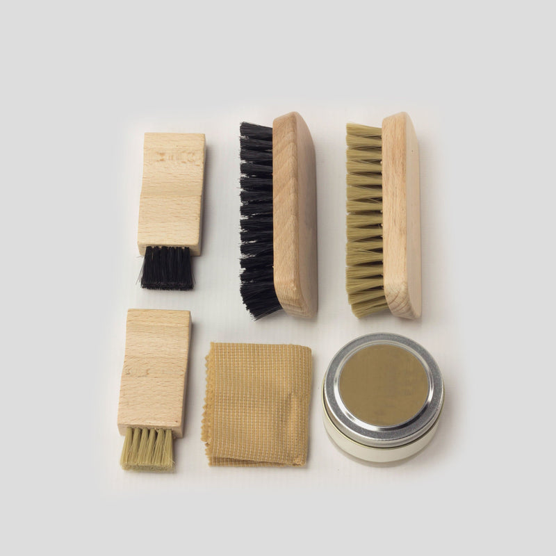 LEATHER SHOE CARE KIT Leather Shoe Care Kit Walcott's Footwear