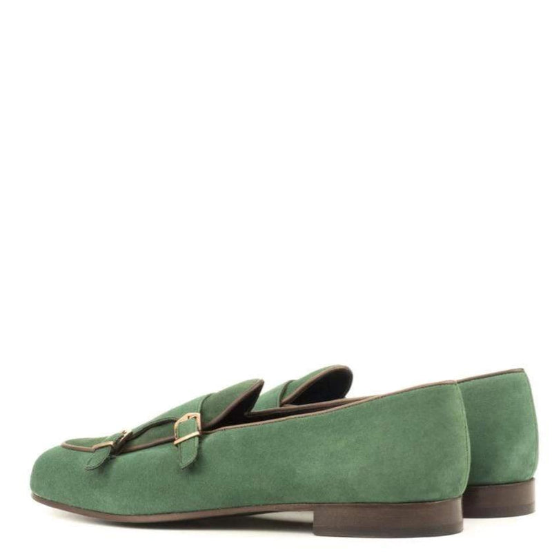 Malvern M - Forest Green Belgian Monk Loafer Walcott's Footwear