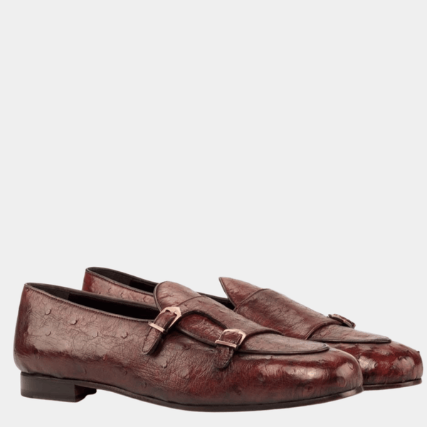 Malvern M - Red Exotic Belgian Loafer Walcott's Footwear