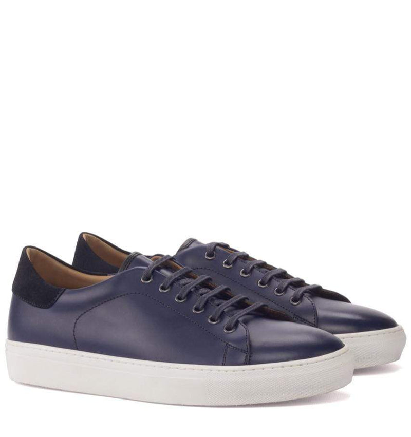 Riversdale - Navy Trainers Walcott's Footwear