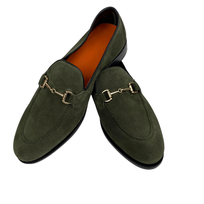 Rushton Unlined - KHAKI Horse-bit Loafer Walcott's Footwear