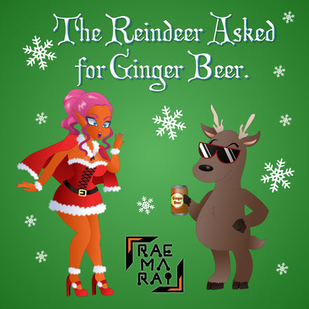Anime Alien Artist Raemarai Releases Hilarious Novelty Christmas Single 'The Reindeer Asked For Ginger Beer'