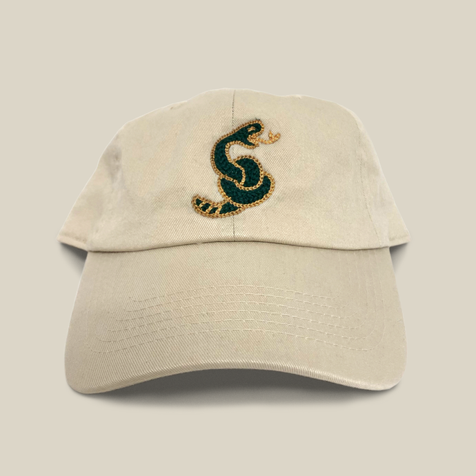 CHAINSTITCHED DAD HAT