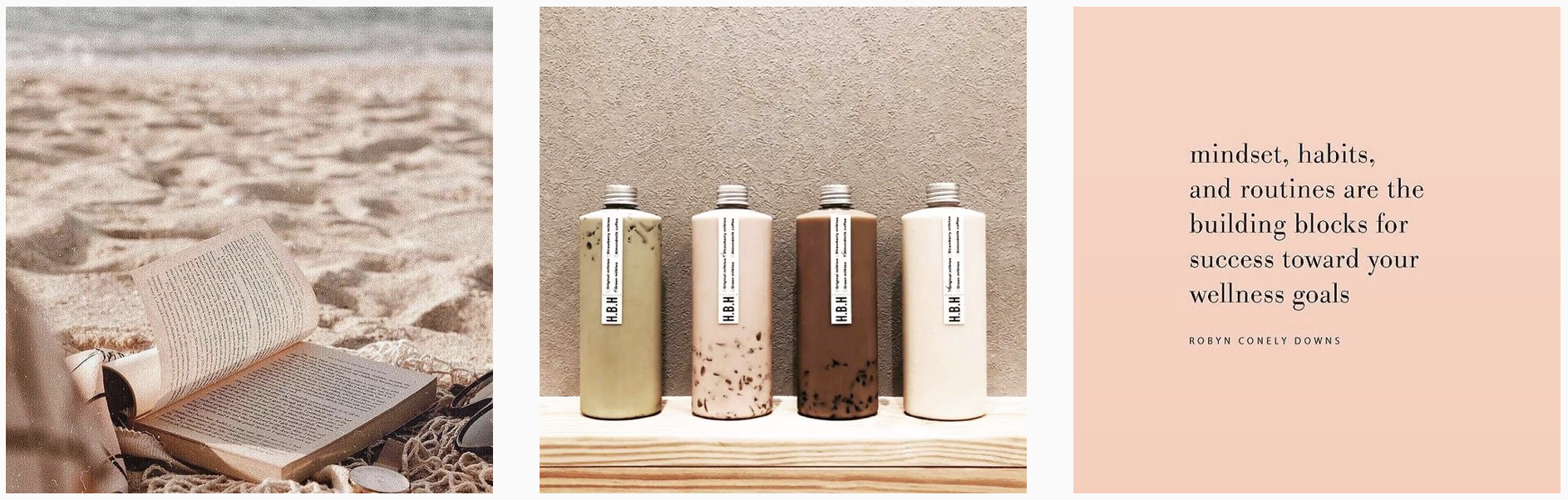curated neutrals instagram