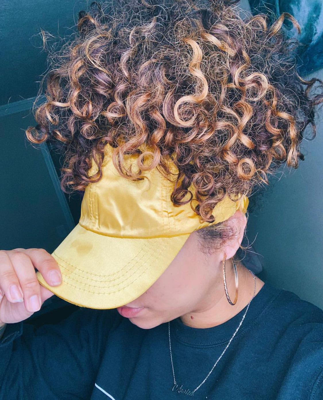 625c23bb2 Satin Lined Caps for Curls, Afro, Braids, and All Hair Types