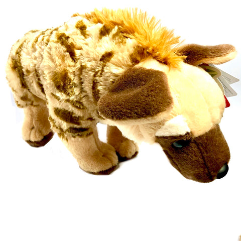 Stuffed Hyena