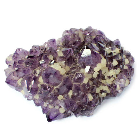 27.6 lbs Amethyst Cluster with Goethite from Brazil