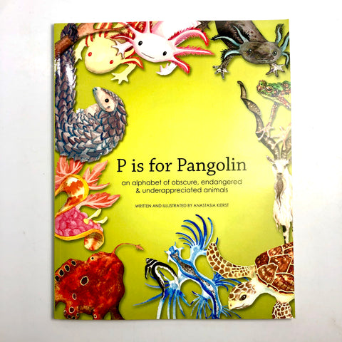P is for Pangolin