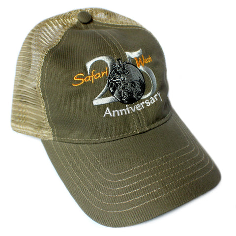 Safari West 25th Anniversary Mesh Adult Hat