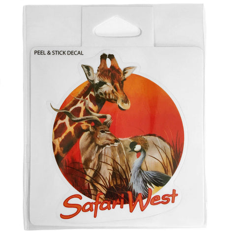 Safari West Sticker