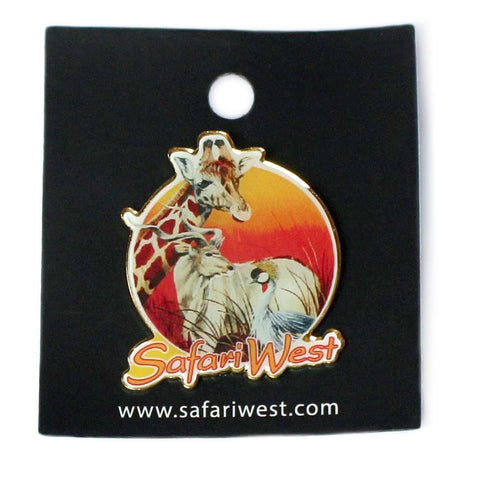 Safari West Pin