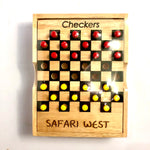 Wood Checkers