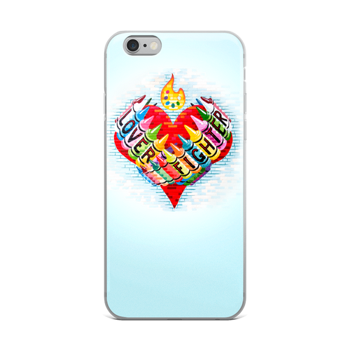 LOVER FIGHTER iPhone Case