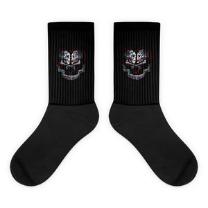 TIL DEATH Black Socks