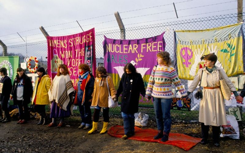 History of the Greenham Common protests 1981-2001