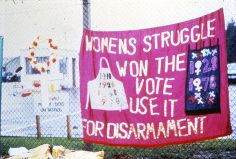 Greenham Common women protesters International Womens Day Happier Beauty