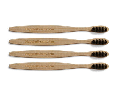 4 Pack Bamboo Toothbrush