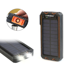 Solar Power Bank with Cigarette Lighter