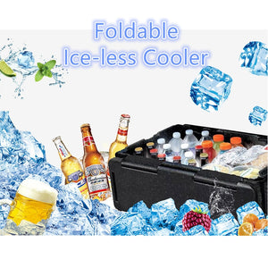 Ice-Less Foldable Cooler