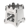 Image of NEW ULTRALIGHT TITANIUM WOOD BURNER CAMPING STOVE