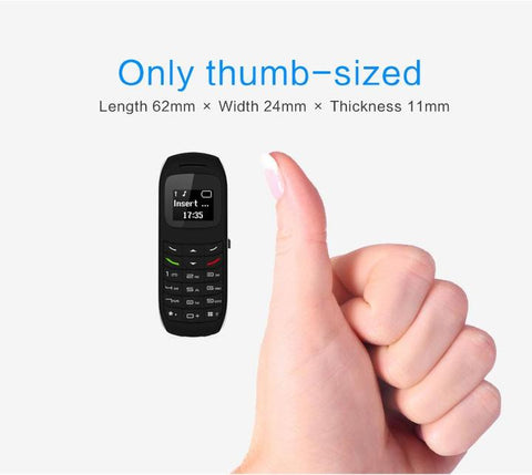 Emergency Thumb Size Phone