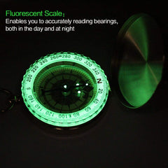 Glow in the Dark Military Compass
