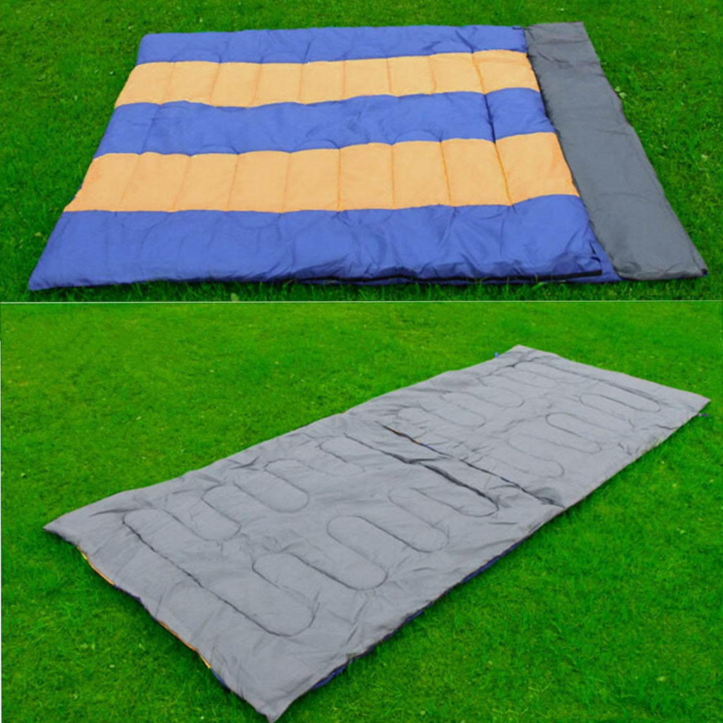 Double Camping Envelope Sleeping Bag