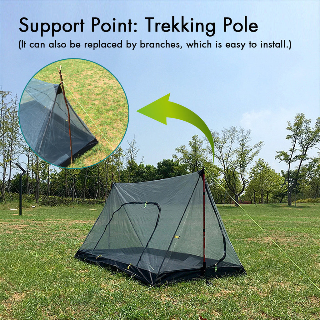 Anti Mosquito Waterproof   Ultralight Mesh Tent