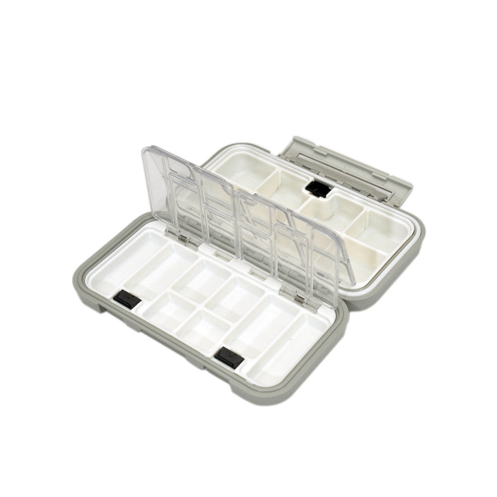 Waterproof  Fishing Plastic Box Fly Box Fishing Tackle Impact Resistant