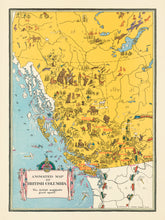 Animated Map of British Columbia