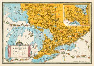 Animated Map of Ontario