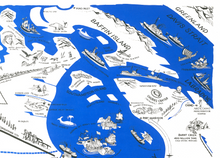 Animated Map of Northern Canada